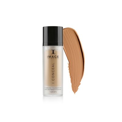 IMAGE Skincare I CONCEAL flawless foundation toffee swatch